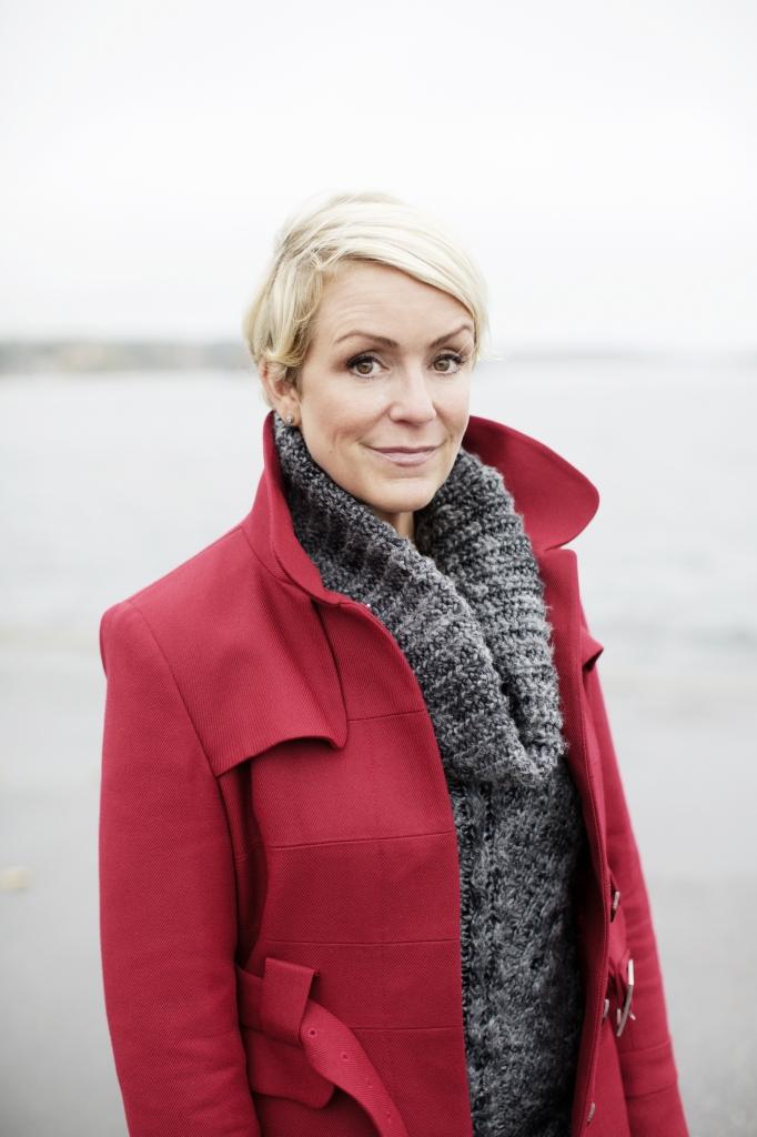 Karin Adelsköld fotograferad i Vaxholm